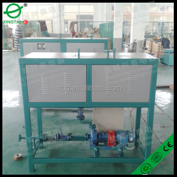 thermal oil heating system