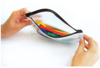 Best selling custom clear plastic pencil case