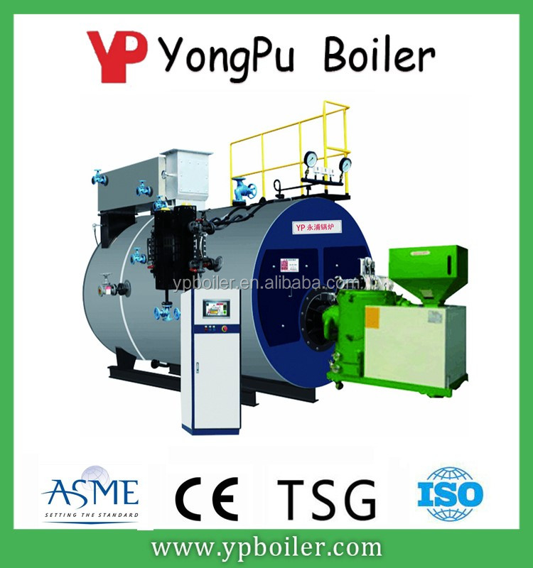 Condensing Food Processing Steam Boiler For Cooking
