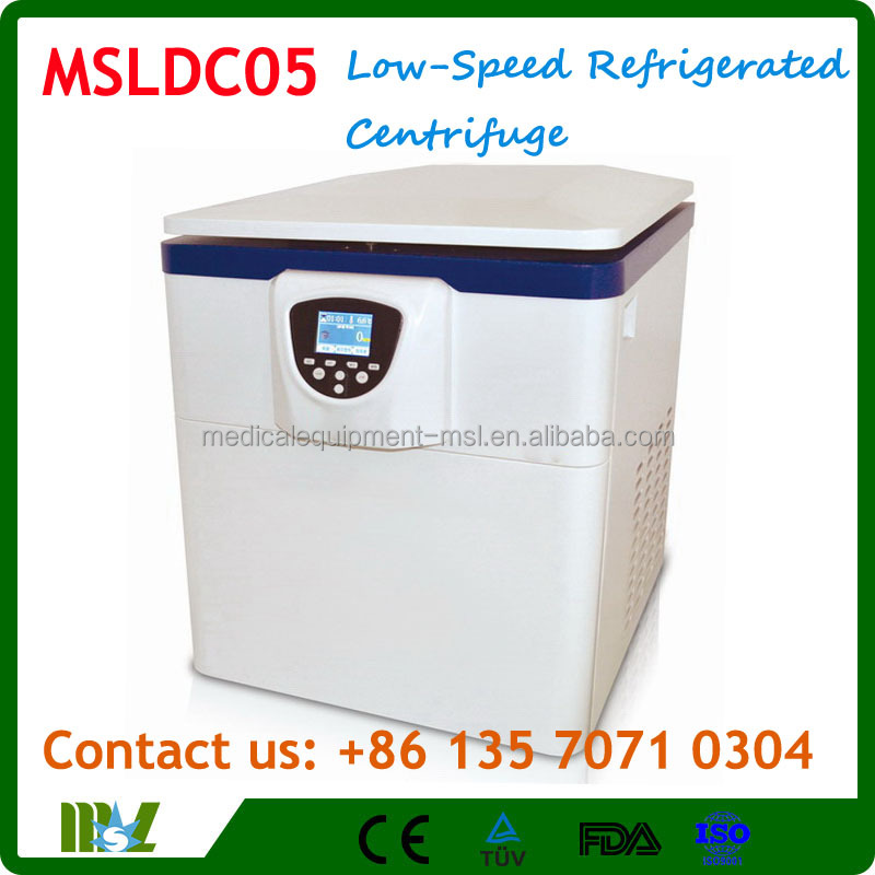 MSLDC05 Vertical Type Low-Speed Refrigerated Centrifuge/Floor refrigerated centrifuge machine