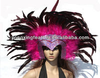 hotsale indian feathers carnival headdress for sale