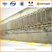 Solid Sodium Silicate Glass Shaping Machine