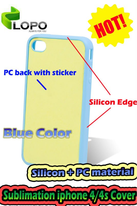 Sublimation Cell Phone Case For iphone4/4s