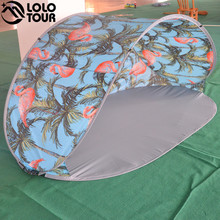 Custom Pattern Outdoor Fishing Camping Tent Folding Sun shelter Pop up Beach Tent