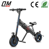 2017 new design folding electric bike with pedal assistant manufactured in China