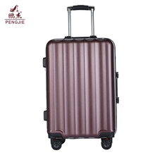 New design aluminum frame trolley hard shell vip luggage suitcase