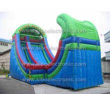 inflatables water dragon spiral slides for sale
