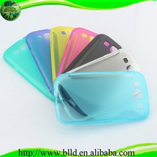 Alibaba china soft gel TPU cover mobile phone accessories for Samsung S3 I9300