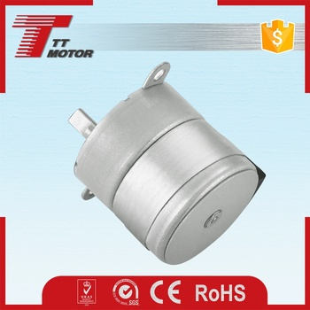 Low rpm electric mini stepper geared dc motor 12v 50nm