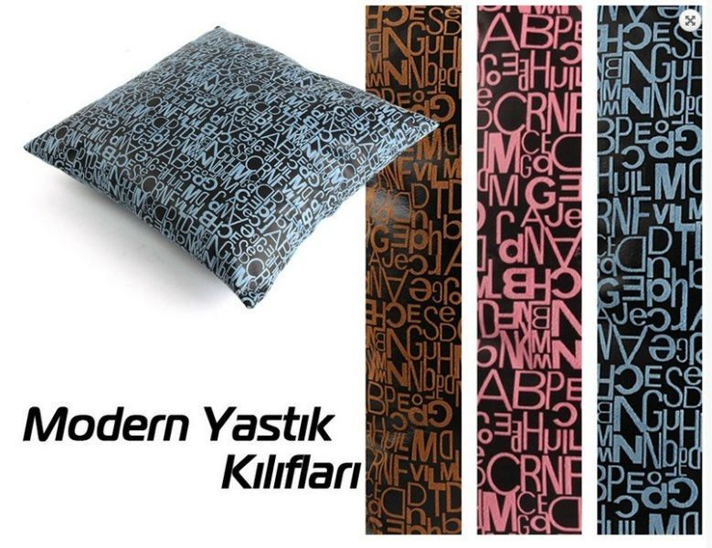 Printed letters Cushions Covers