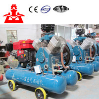 Factory direct sale belt drive 2V-4/5 kaishan brand mining pistion air compressor