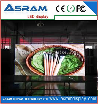 smd 3-in-1 indoor full color video p4 led advertisement screen indoor advertising small led display screen