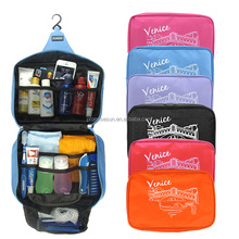 Large capacity outdoor cosmetic bag Venice Oxford cloth bag hanging type washing hanging toiletry travel bag