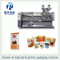 high accuracy mango juice concentrate and chutney in doypack with cap pouch filling sealing capping factory machines
