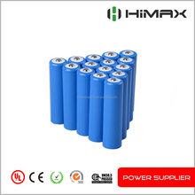 Low price rechargeable lithium inr 3.7v 2200mah li-ion battery pack