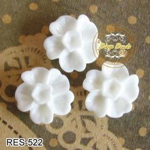 1. Resin Cabochons Resin Flowers Rose Resin Flower Cabochons 10mm Great On Bobby Pins Earrings Rings