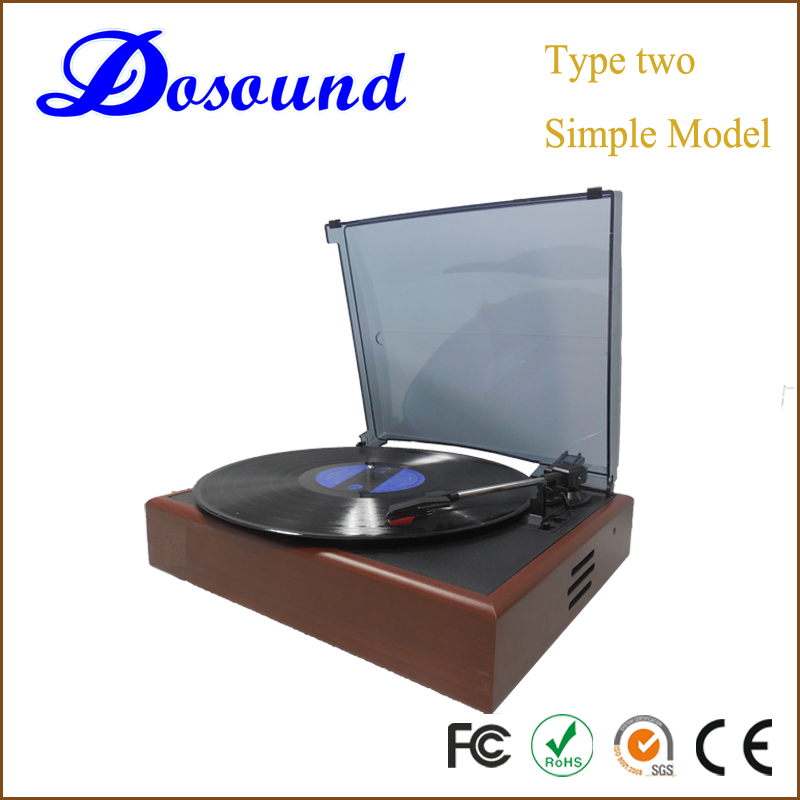 Dosound Ds2018 wholesale simple modern gramophone record player for playing music