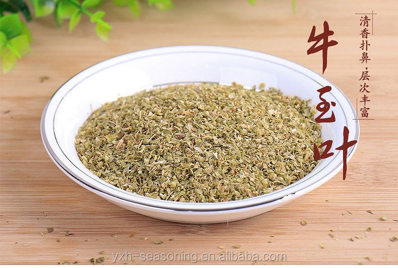 High grade air dried oregano leaves condiments used for western food Sample Available and free