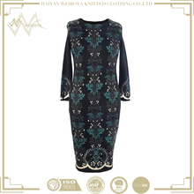2017 new fashion cutwork embroidery cheap chinese wholesales fashionable luxury dress