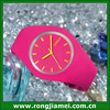 2014 hot selling Geneva brand Jelly watch candy colors for lover quartz watch fashion geneva silicone watch