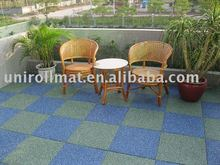 RR Series Laminated Rubber Tiles for outdoor playground