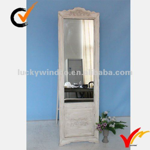 Shabby and chic Large Dressing room mirror