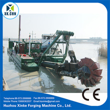 Mud Suction Dredger & Chain Bucket River Sand Dredger/ Chain Gold Dredger For Sale