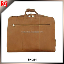 Leather garment bag/wedding dress garment bag/garment bag suit cover