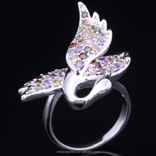 Professional Jewelry Factory Wholesale Animal Sex With Woman Silver Ceramic Ring