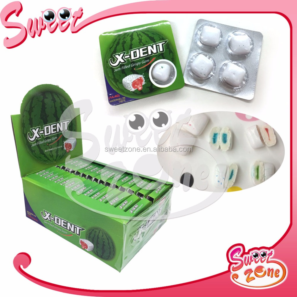 4PCS Super heart Strong Mint Gum