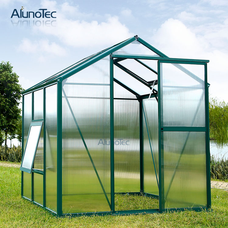 Aluminium Hobby Garden Greenhouse Kit