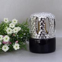 Black Perfume Bottle Oil Lamp Chimney Glass