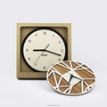SLTB001 Luxury high quality popular fashion wooden wall clock