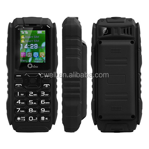 Oeina XP7 1.77 inch TFT Screen IP67 waterproof rugged 3600mah big battery mobile phone