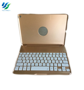 Aluminium Alloy Bluetooth Keyboard Wireless Colorful For iPad Air 2