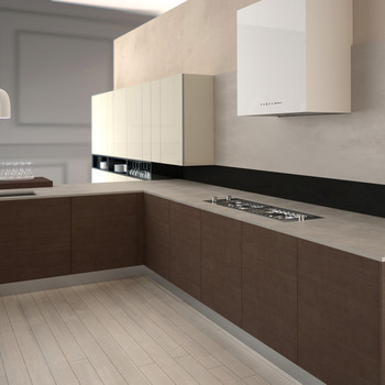 Perfect Resin Prefab Cheap Kitchen Cabinet Countertop