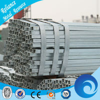 STEEL PIPE SQUARE GALVANIZED FENCE POSTS