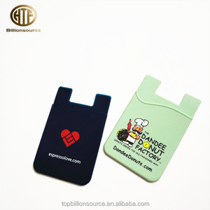Universal custom silicone western cell phone cases for key card holder