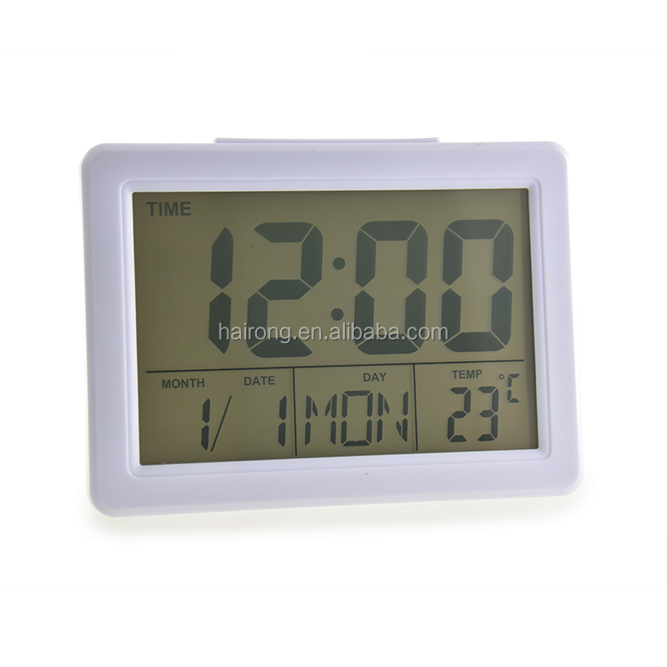 Digital prayer time clock and digital wall clock for bubble bag white box
