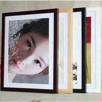Simple Wall Art canvas print painting frames/MDF wall picture frame