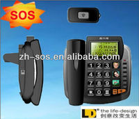 Cheap wall mount sos keyphones,intercom system telephone dialer, LCD display phone for home