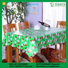 Wholesale Cheap Round Polyester Table Cloth Thick Plastic Roll Table Cover