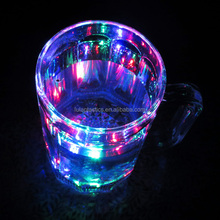Party Event type led fancy beer mug with three Light flashing mode