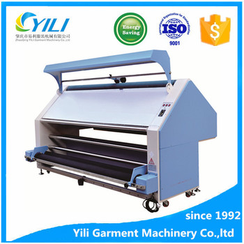 quality knitting fabric finishing inspection testing and shrinking relaxing loosening cloth Eliminate tension machine