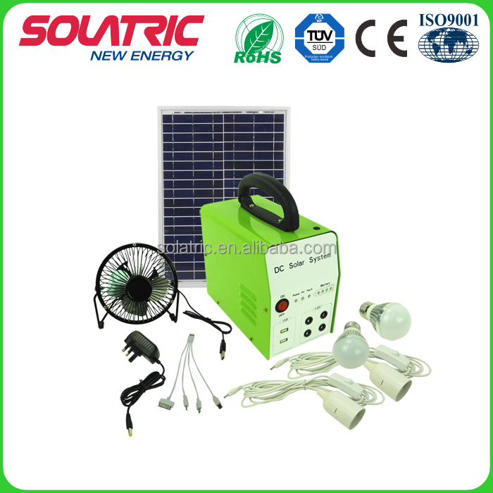 20W Small Solar Panel System for outdoor lighting