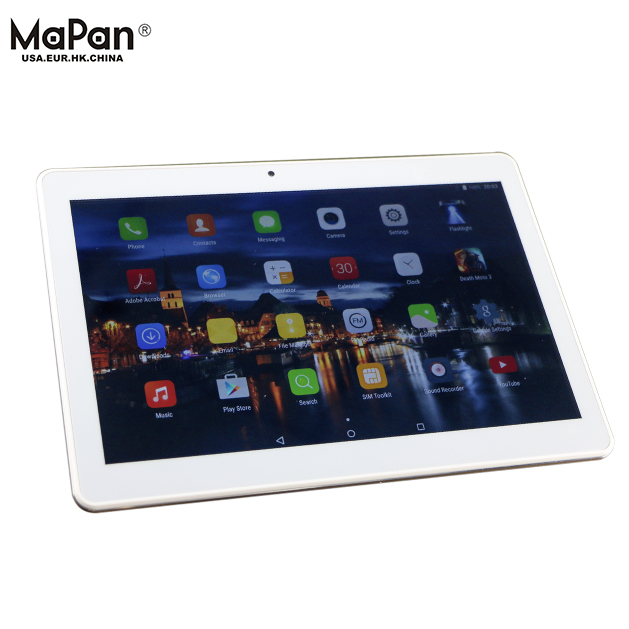 High quality MaPan F10B 4G Octa Core 10.1 Inch RAM/ROM 2g/32g Android Pocket PC Tablet