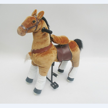 High cost-effective Zebra Pony Riding Horse Walking Mechanical Horse Pony Riding Horse