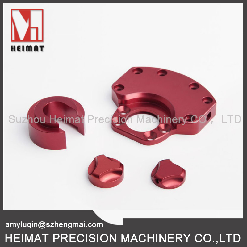 Azotizing or Oxidized Custom Aluminum CNC Machining Parts