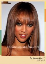 "2011 best selling beautiful 16"" straight hair lace wig company"