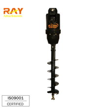 hydraulic earth auger drill for hole digging machine
